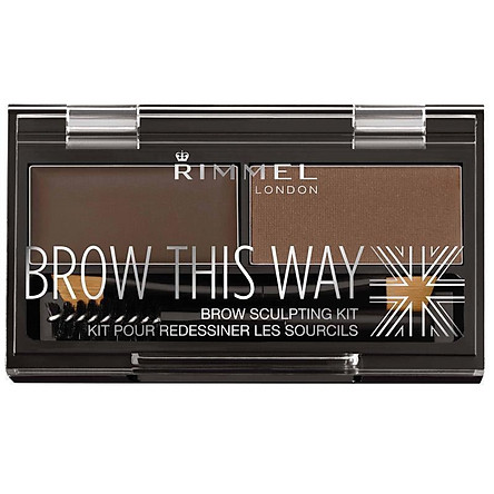 Rimmel Brow This Way Eyebrow Powder Kit 003 Dark Brown