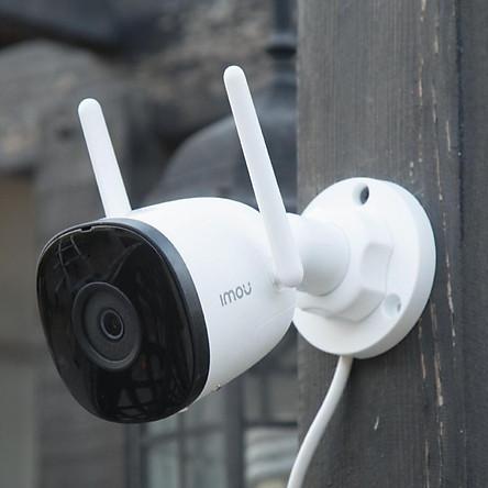 Camera IP Wifi Ngoài Trời Imou F22P Bullet 2C Full HD 1080P Tặng Phíc Cắm Âm - Hàng Chính Hãng