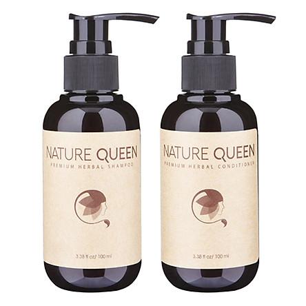 [ Bộ Gội Xả ] Nature Queen  Kích thích mọc tóc 100ml