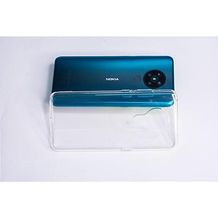 Ốp lưng Silicone dẻo trong dành cho Nokia 5.3