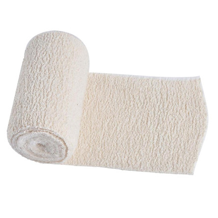 Thick Cotton Elastic Bandage Compression Wrap First Aid Injury Kit 4''