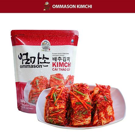 [Ommason Kim chi] Kim chi cải thảo cắt lát - 500g