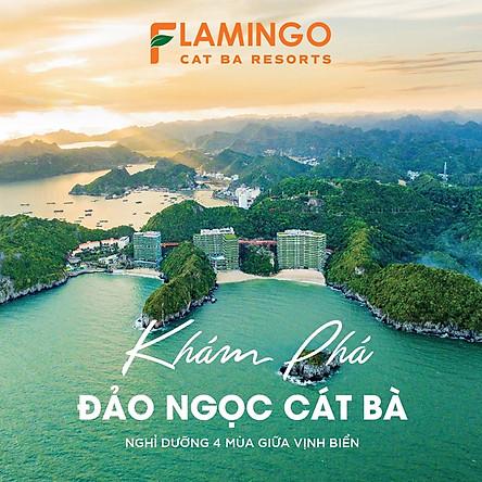Flamingo Cát Bà Beach Resort 5* - Buffet Sáng, Hồ Bơi Vô Cực, Chèo Kayak, Xe Đạp, Skywalk Độc Đáo, Bên Vịnh Lan Hạ, Không Phụ Thu Cuối Tuần, Lễ Tết