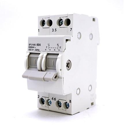 Cầu dao đảo chiều Aptomat chuyển đổi 2 nguồn điện 2P 63A