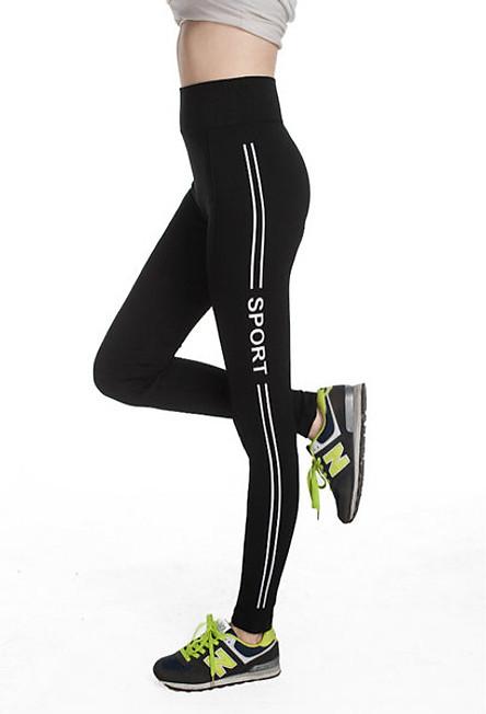 Quần Tập Yoga, Gym Nữ Cạp Cao YL1903 (Free Size) - Xanh