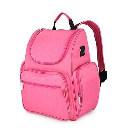 Insular Mommy Bag Backpack Waterproof Large Capacity Baby Bags Diaper Bag with Changing Pad Stroller Hanging Strap