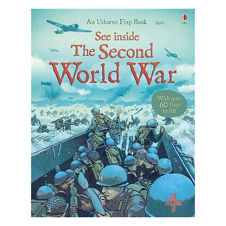Sách tương tác tiếng Anh - Usborne See Inside Second World War