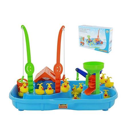 Bộ đồ chơi câu vịt 2 cần câu  Wader Toys - (Mẫu ngẫu nhiên)