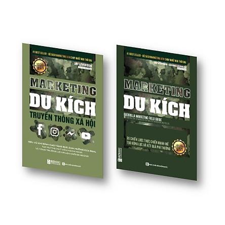Bộ đôi 2 cuốn sách Marketing du kích bất bại KZ : Marketing Du Kích Truyền Thông Xã Hội và Marketing du kích - 30 chiến lược thực chiến mạnh mẽ tạo động lực và kết quả phi thường