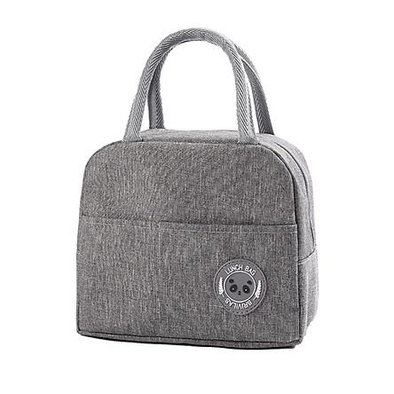 Túi đựng cơm thiết kế Hàn Quốc -  Lunch Bag   Có lớp bạc giữ nhiệt dễ vệ sinh