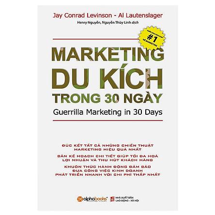 Marketing Du Kích Trong 30 Ngày (Tái Bản) (Quà Tặng: Cây Viết Black)