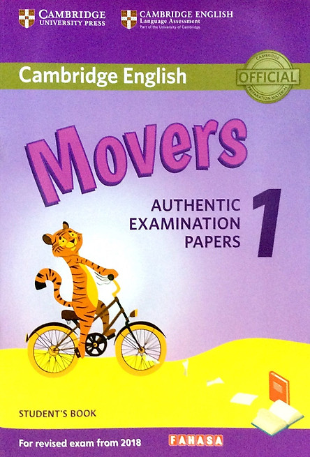 Cambridge English Movers 1 for Revised Exam from 2018 Student's Book