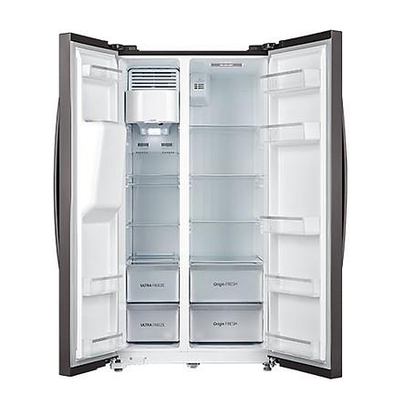 Tủ lạnh Side By Side  Toshiba Inverter 493 lít GR-RS637WE - Hàng Chính Hãng - Chỉ giao khu vực HCM