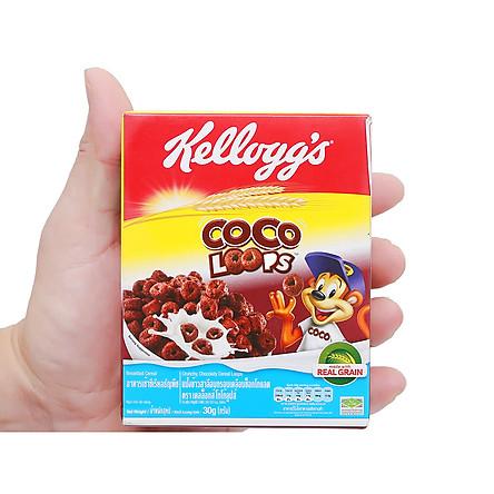 """[Chỉ Giao HCM] - Ngũ cốc dinh dưỡng Kellogg""""s Coco Loops - hộp 30gr"""
