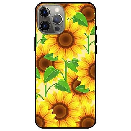 Ốp lưng dành cho Iphone 12 - Iphone 12 Pro - Iphone 12 Pro Max mẫu Hoa Vàng
