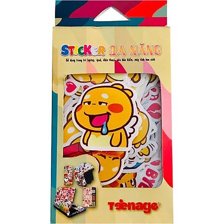 Sticker Casiofx Đa Năng Quoobee Agapi Icon Ngộ Ngĩnh Đáng Yêu 005 (20 Hình)