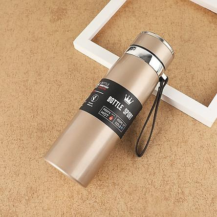 Bình Giữ Nhiệt cao cấp OLAPLE Inox Bottle Sport 1000ML, Inox 304, Giữ Nhiệt Siêu lâu, tiện dụng - Hàng nhập khẩu
