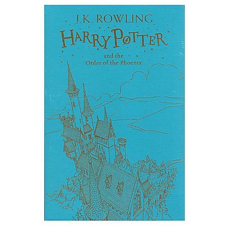 Harry Potter Part 5: Harry Potter And The Order Of The Phoenix (Hardback) Gift Edition (Harry Potter và Hội Phượng Hoàng) (English Book)