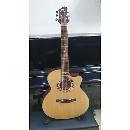 Đàn guitar Acoustic thùng eo MCAC135, size 4, vân gỗ, kèm bao da, 1 bộ dây ,