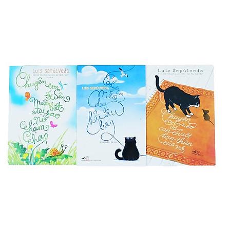 Combo Sách Tác Giả Luis Sepúlveda - Chuyện Con Mèo Dạy Hải Âu Bay (Bộ 3 cuốn)