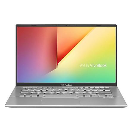 """Laptop Asus Vivobook A412FA-EK223T i3-8145U/4G/512GB SSD/UMA/14""""FHD/Win 10/Bạc ánh trăng - Hàng chính hãng 100% FullBox"""