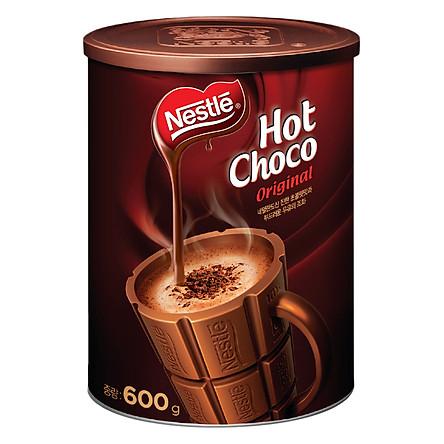 Lon Bột Ca Cao Nestlé Hot Choco (600g)
