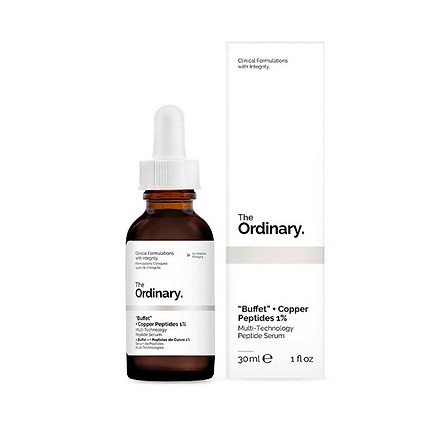 Tinh chất dưỡng The Ordinary Buffet + Copper Peptides 1% 30ml