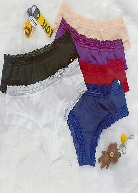 Combo 10 quần lót cao cấp Lọt khe thun coton lạnh 368 Hàng việt nam