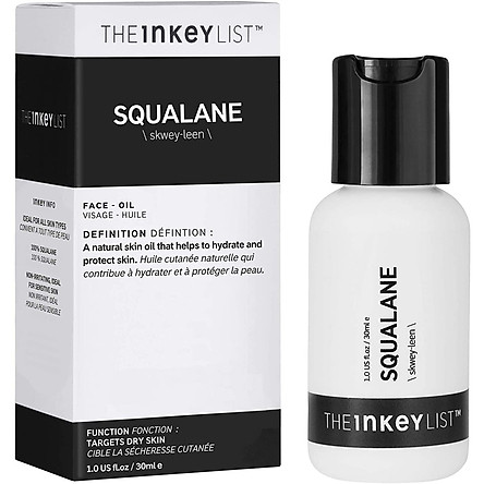 Tinh chất The Inkey List Squalane Oil - 30ml