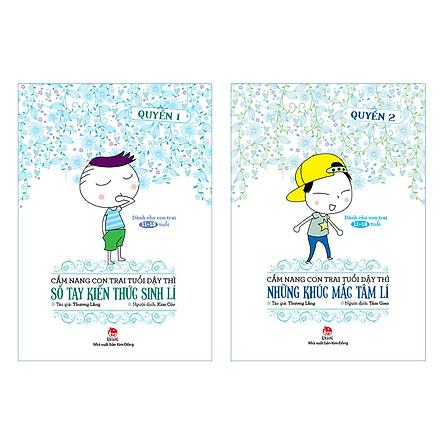Combo Cẩm Nang Con Trai Tuổi Dậy Thì (2 cuốn)