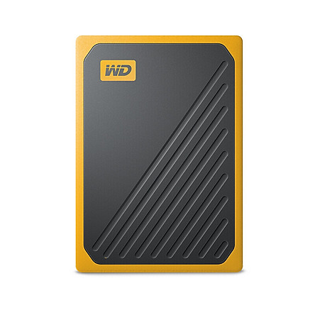 WD Portable SSD My Passport Go 2TB USB 3.0 High Speed Mobile Hard Disk Portable Shockproof External Hard Drive Yellow