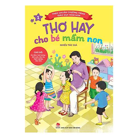 Thơ Hay Cho Bé Mầm Non (Tập 1) (Tái Bản)