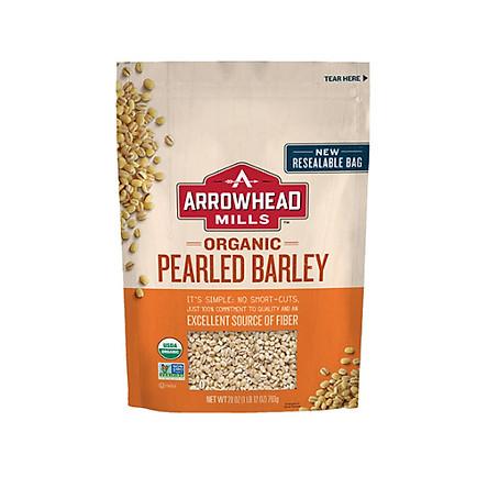 Hạt lúa mạch (ý dĩ)  hữu cơ Arrowhead  Mill 794g - Organic Barley,Pearled