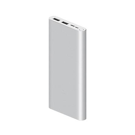 Pin Sạc Dự Phòng 10.000Mah Xiaomi Gen 3 Hỗ Trợ Sạc Nhanh Qc 3.0 - Hàng Chính Hãng