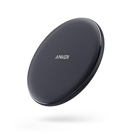 Sạc nhanh không dây ANKER chuẩn QI cho Apple iPhone11Pro Max/X/Xs Max/XR/8/8plus/Xiaomi 9/Samsung S10/ Huawei P30pro