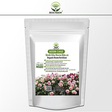Neem Cake (Bánh dầu Neem), Phân bón hữu cơ dưỡng mầm lá tốt nhất cho hoa hồng, hoa lan,Trị và phòng ngừa bệnh tuyến rễ như nấm rễ, sùng đất, cuốn chiếu, ốc sên, tuyến trùng