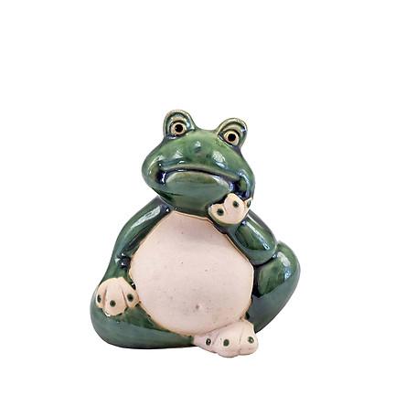 Ếch xanh – tượng gốm sứ trang trí hình động vật