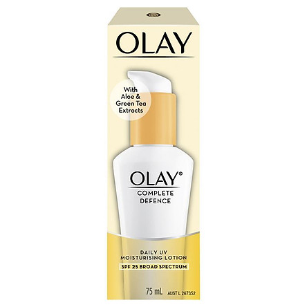 Olay Complete Defence SPF 25+ Moisturising Lotion 75ml