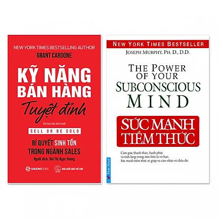 Combo 2 cuốn: Kỹ Năng Bán Hàng Tuyệt Đỉnh, Sức Mạnh Tiềm Thức