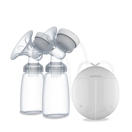 Máy hút sữa điện đôi chức năng massage 8 cấp độ
