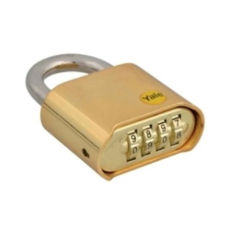Khóa số Yale dòng Y126- thân rộng 50mm- ổ khóa bấm cao cấp