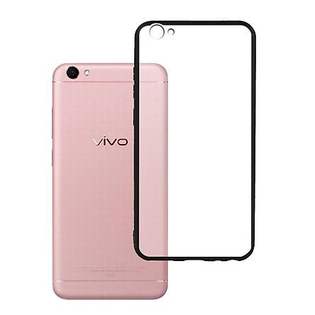 Ốp lưng Vivo V5 / V5S / Y67 - Bề mặt nhám chống vân tay, lưng cứng, viền TPU dẻo - 02071 - Hàng Chính Hãng