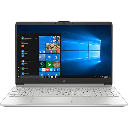 "Laptop HP 15s-fq1017TU, Core i5-1035G1(1.00 GHz,6MB),4GB RAM,512GB SSD,Intel UHD Graphics,15.6""HD,Wlan ac+BT,3cell,Win 10 Home 64,Silver_8VY69PA - Hàng Chính Hãng"