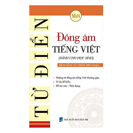 Từ Điển Đồng Âm Tiếng Việt (Dành Cho Học Sinh)
