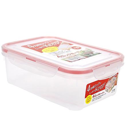 Hộp đựng thực phẩm chữ nhật inomata nhập khẩu Nhật Bản