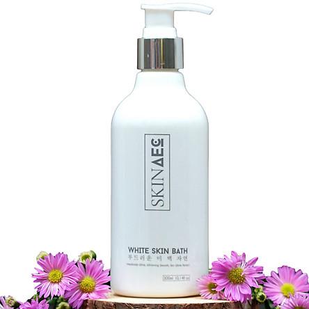 Sữa Tắm Trắng Dưỡng Da Hằng Ngày Skin AEC White Skin Bath (300ml)– Dưỡng Trắng, Tẩy Tế bào Chết