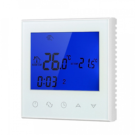 Wifi Programmable Thermostat Wifi Water Heating Smart WIFI Temperature Controller 3A 200~230V With Backlight LCD