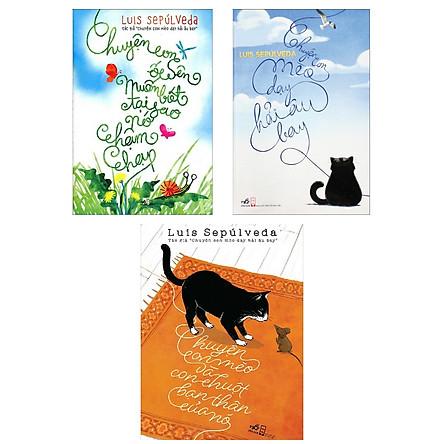 Combo Sách Kỹ Năng Sống Dành Cho Mọi Lứa Tuổi: Chuyện Con Mèo Và Con Chuột Bạn Thân Của Nó + Chuyện Con Mèo Dạy Hải Âu Bay + Chuyện Con Ốc Sên Muốn Biết Tại Sao Nó Chậm Chạp (Bộ 3 Cuốn Sách Được Độc Gỉa Yêu Thích Nhất - Tặng kèm Bookmark Happy Life)