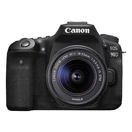Máy ảnh Canon EOS 90D Body + Lens 18-55mm - Hàng chính hãng