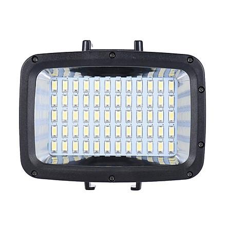Đèn LED Trợ Sáng Công Suất Cao 3 Chế Độ Chông Nước 40M Kèm Đế Gắn + 3 Bộ Lọc Andoer Cho Máy Ảnh GoPro Hero Xiaomi Yi Canon Nikon Sony (1800LM) (5500K) (60 LED)